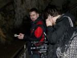 Nahrávání zvuků podzemí