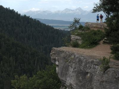 Tomášovský výhled ve Slovenském ráji